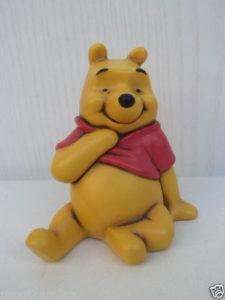 Disney Winnie the Pooh Statuina Ceramica