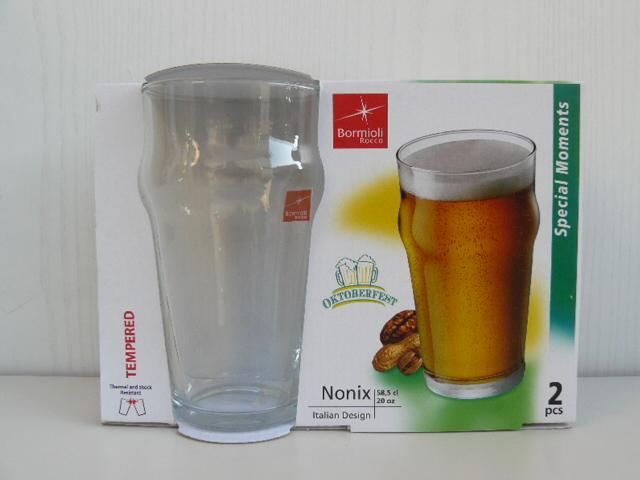 cristales Nonix apilables cerveza vasos y de Bormioli 30 cl f7vmIYgb6y