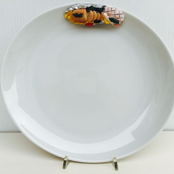 Nadir piatti portata piatti saturnia porcellana carne - Piatti da portata particolari ...