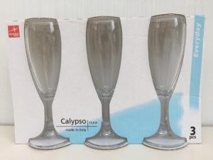 Bormioli Rocco 3 Bicchieri Flute Fluttino Calypso