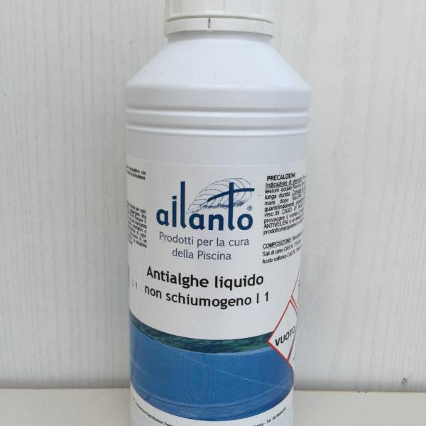 Ailanto antialghe liquido 1l non shiumogeno superconcentrato paggi casalinghi - Trattamento antialghe piscina ...