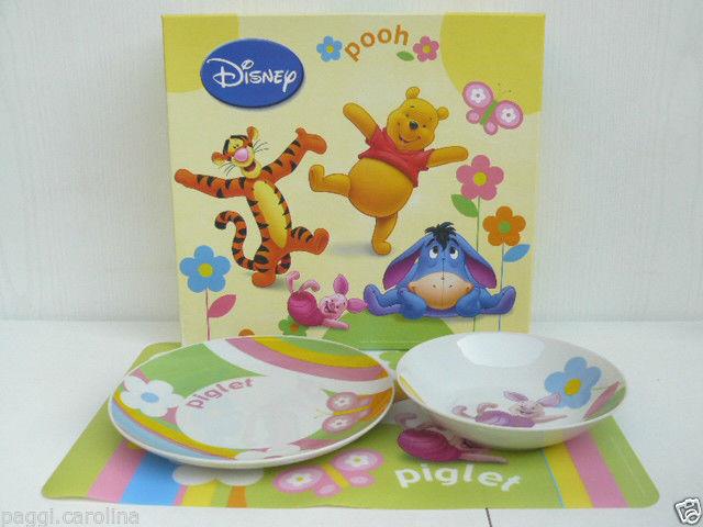 Egan set pappa con tovaglietta disney ceramica winnie the - Cucina winnie the pooh ...