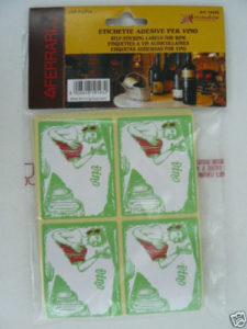 Etichette Vino Annata