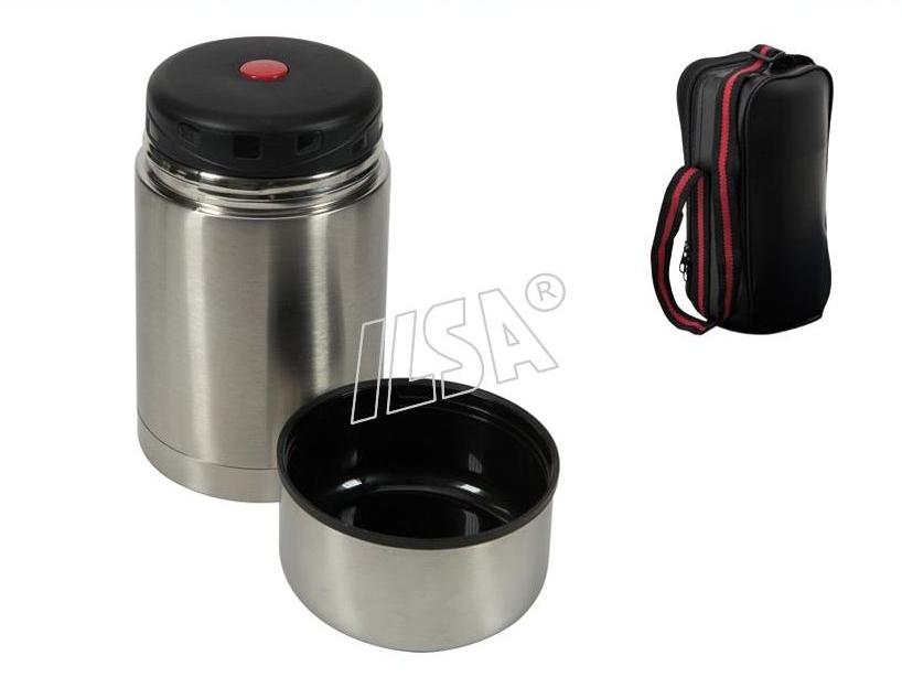 Ilsa portavivande termico inox con custodia 500 cc paggi for Portavivande termico