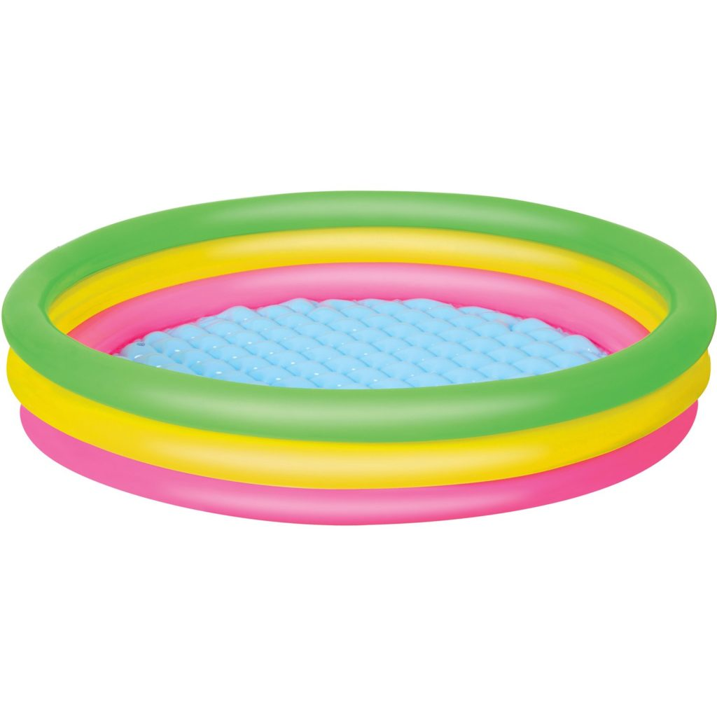 Bestway piscina bimbo 3 anelli diametro 102 x h 25 cm for Hobby fai da te